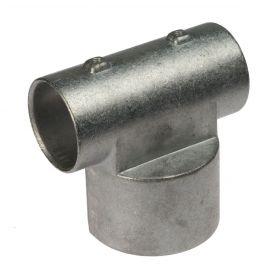 T-Verbinder für Ballfangzäune, asymmetrisch, Aluminium