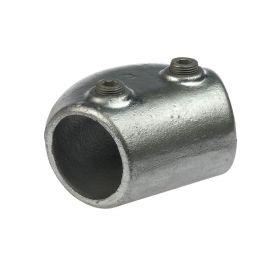 G123 Temperguss Bogenverbinder 165 Grad - 105 Grad (A7), feuerverzinkt