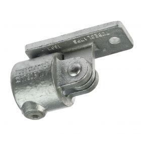 G169 Temperguss Gelenkverbinder als Wandanschluss (A52), feuerverzinkt