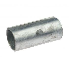2-teilige Stahlrohrkupplung, feuerverzinkt