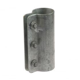1-teilige Stahlrohrkupplung, feuerverzinkt
