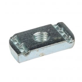 Schiebemutter 41, elektrolytisch verzinkt