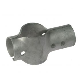 2-teiligen T-clamp schwer, feuerverzinkt